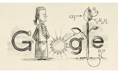 Google recognizes Jan Ingenhousz's 287th birthday
