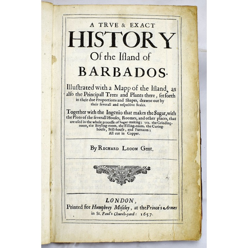 A True & Exact History of the Island of Barbados: Illustrated with Illustrated Map Of Barbados on map of fiji, map of grenada, map of bermuda, map of caribbean, map of st lucia, map of french guiana, map of greenland, map of bahamas, map of belize, map of virgin islands, map of northern brazil, map of grenadine islands, map of turkmenistan, map of spain, map of trinidad and tobago, map of bvi, map of puerto rico, map of cuba, map of the united states, map of mexico,