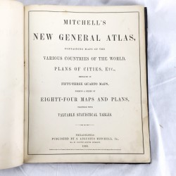 Mitchell's new general atlas