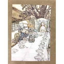 Alice's Adventures in Wonderland (Limited Edition Illustrated By Arthur Rackham)