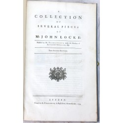 A collection of several pieces of Mr. John Locke