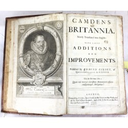 Camden's Britannia, Newly Translated into English: With Large Additions And Improvements