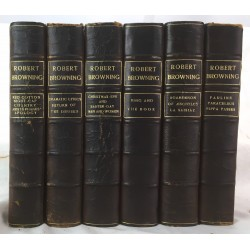 The Complete Works of Robert Browning, 6 vol. set