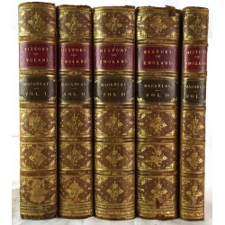 The history of England: James the Second (5 volumes)