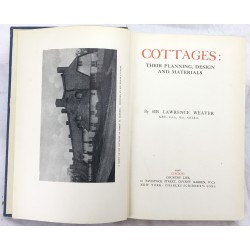 Cottages: Their planning, design and materials