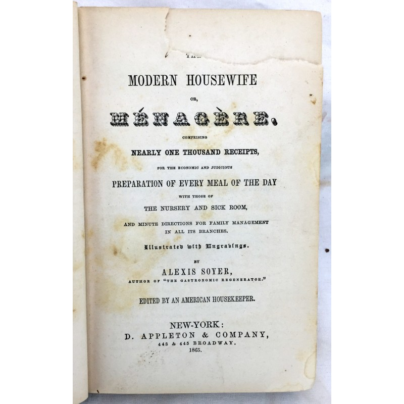 The modern housewife or menagere comprising nearly one for Modern housewife