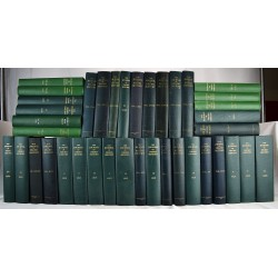 Journal of Negro History: Volumes:  1,-2, 4, 7-9, 11-28, 30-32, 35, 40-50. (39 volume set)