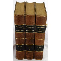 The Encyclopedia of Geography; Comprising a Complete Description of the Earth (3 volumes)