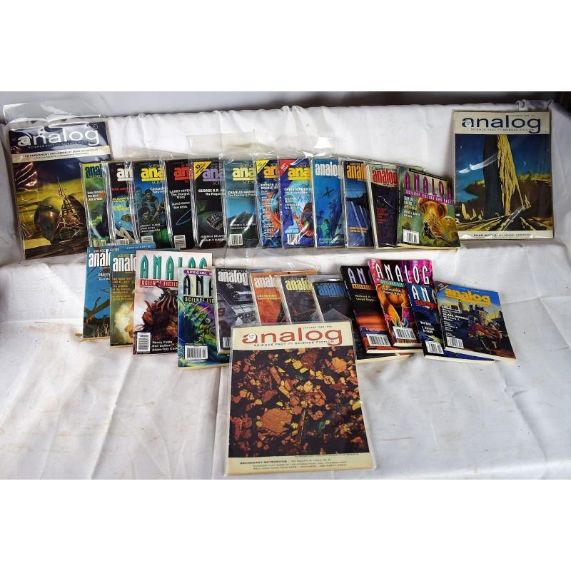 Analog Magazine: Science Fiction and Fact (462 issue set) (Hugo & Nebula  Award Winners)