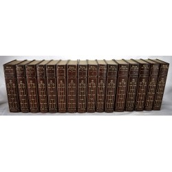 The Complete Works of Henry Fielding (16 volumes, Fine binding)