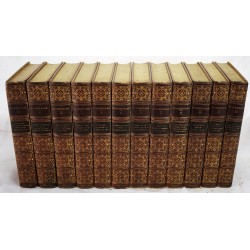 The Works of Shakespeare (The Larger Temple Shakespeare) (12 volumes)