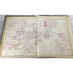 Atlas of West Philadelphia including the 24th & 27th Wards of the City of Philadelphia from actual surveys & official records
