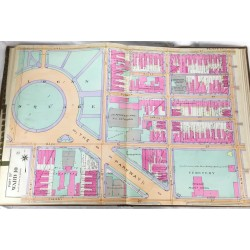 Atlas of the 6th, 9th & 10th wards of the city of Philadelphia, from private plans, actual surveys & official records