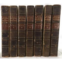 Diary and Letters of Madame D'Arblay (7 vols)