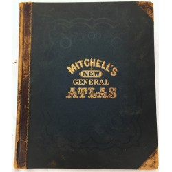 Mitchell's New General Atlas 1874