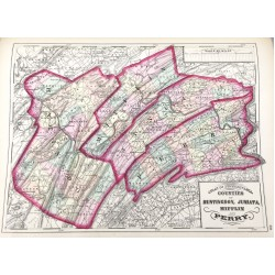 Topographical Atlas of the State of Pennsylvania