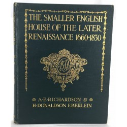 Smaller English House of the Later Renaissance 1660-1830